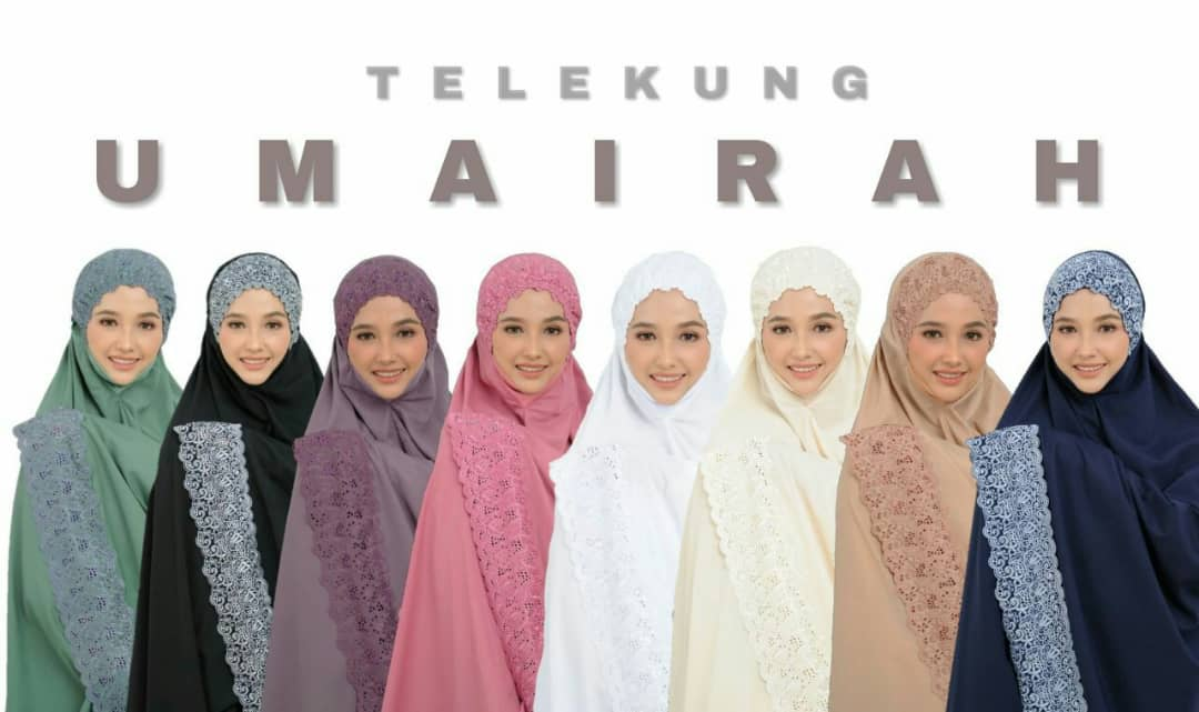 TELEKUNG COTTON RENDA EKSKLUSIF UMAIRAH ALL