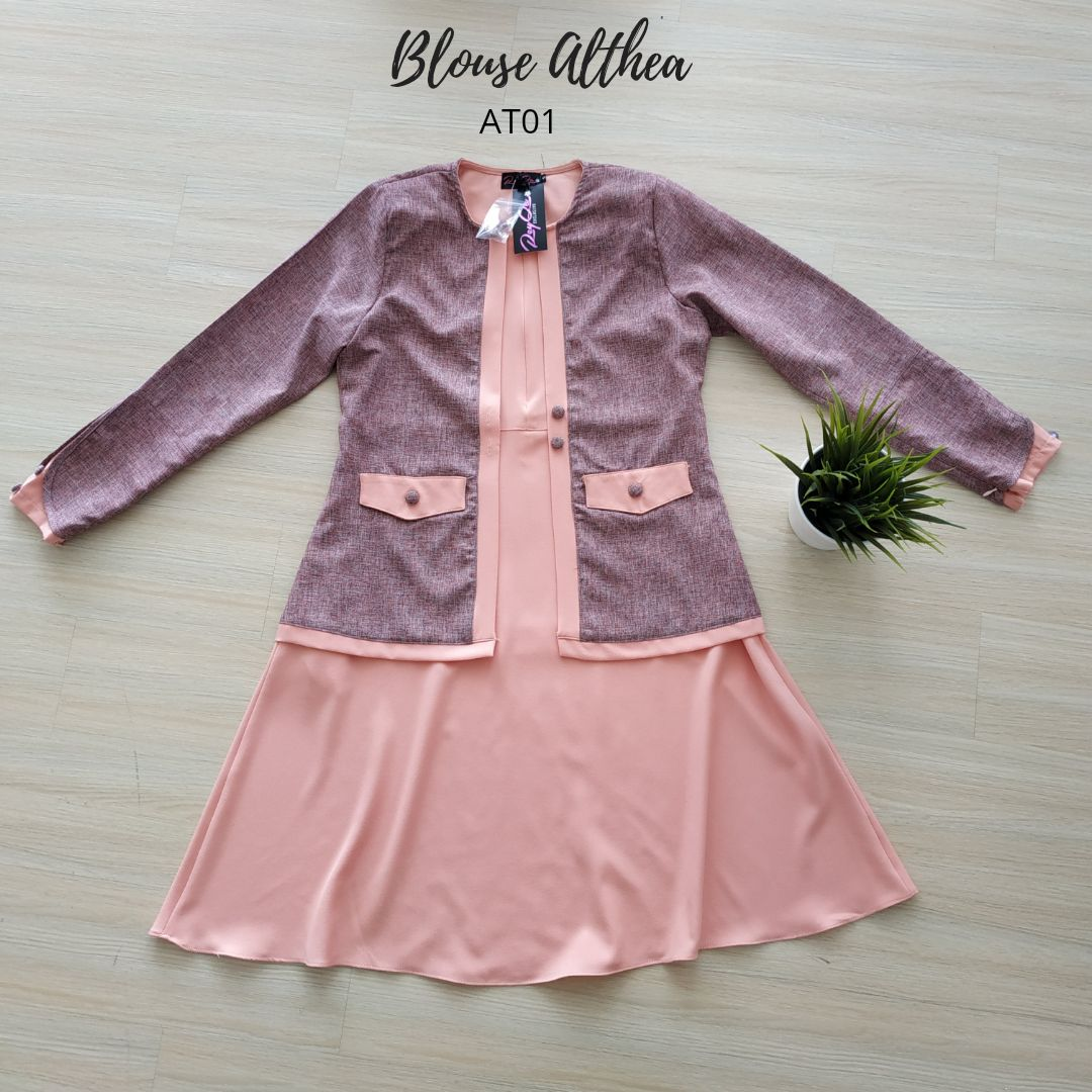 BLOUSE MUSLIMAH 2019 MODEN ALTHEA AT01 4