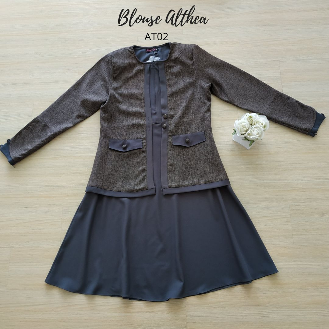 BLOUSE MUSLIMAH 2019 MODEN ALTHEA AT02 4
