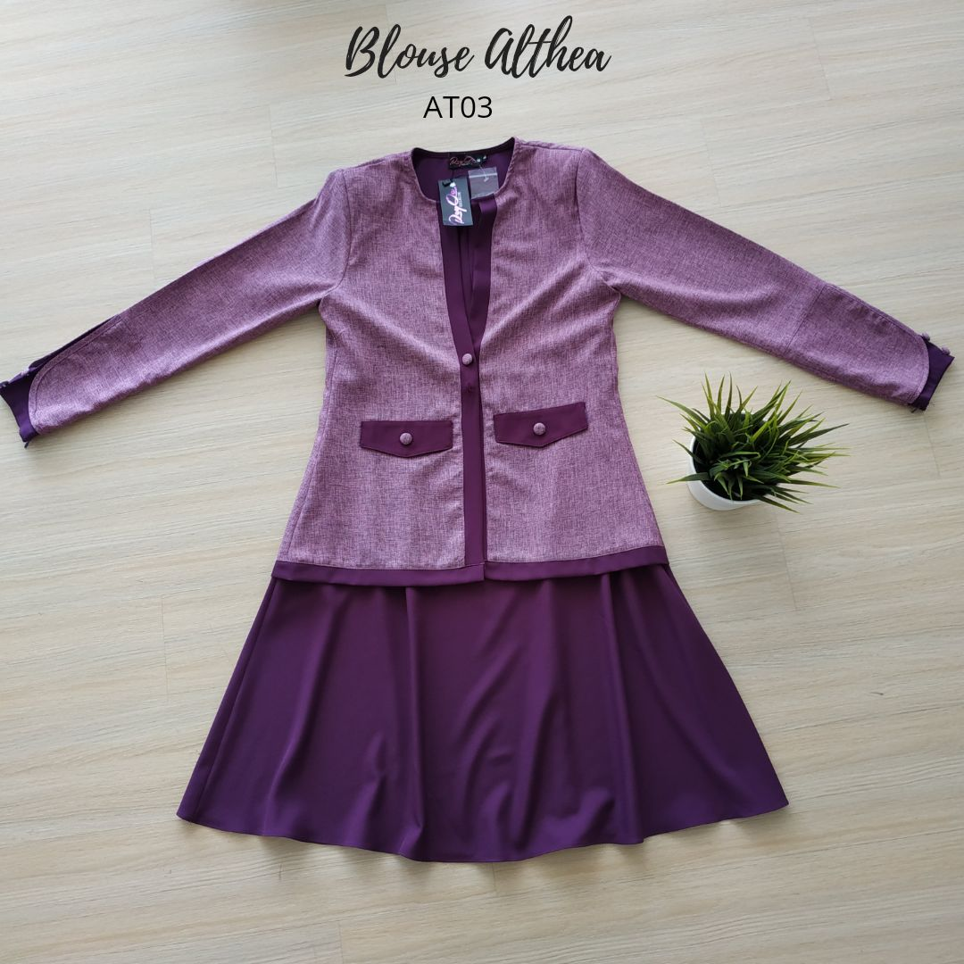 BLOUSE MUSLIMAH 2019 MODEN ALTHEA AT03 4