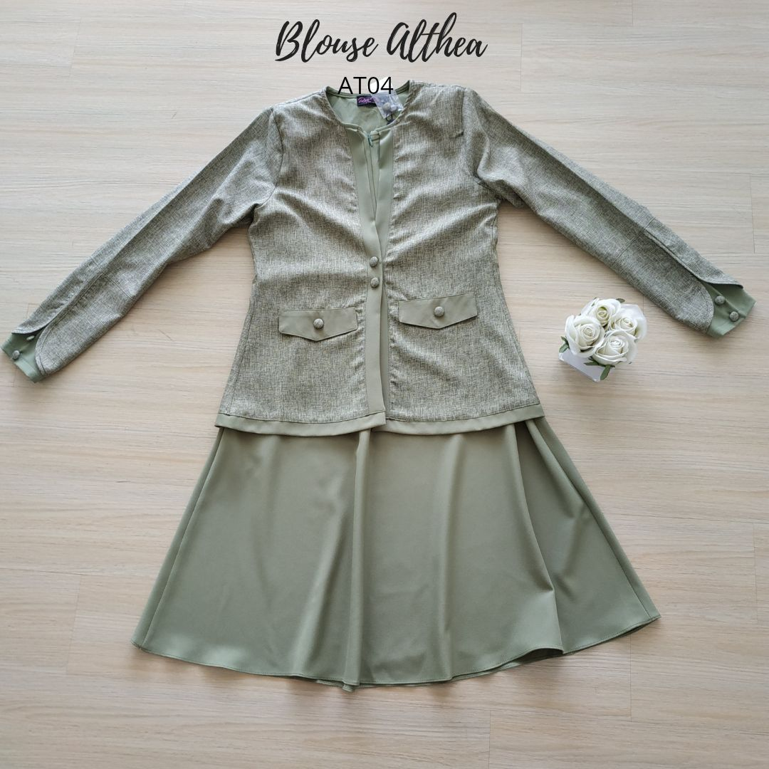 BLOUSE MUSLIMAH 2019 MODEN ALTHEA AT04 4