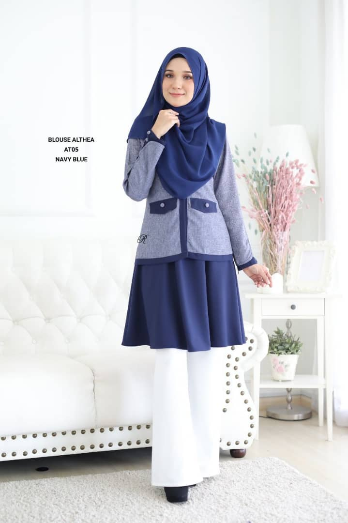 BLOUSE MUSLIMAH 2019 MODEN ALTHEA AT05 1