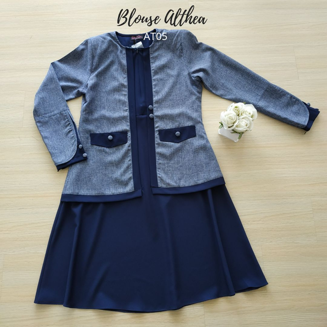 BLOUSE MUSLIMAH 2019 MODEN ALTHEA AT05 4