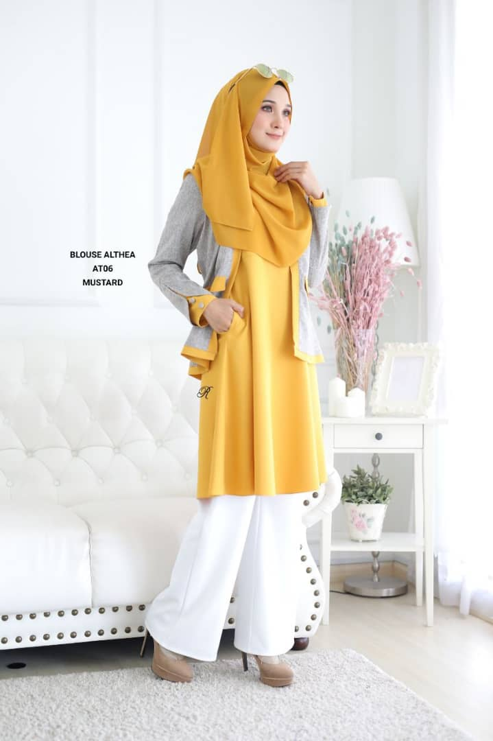 BLOUSE MUSLIMAH 2019 MODEN ALTHEA AT06 1