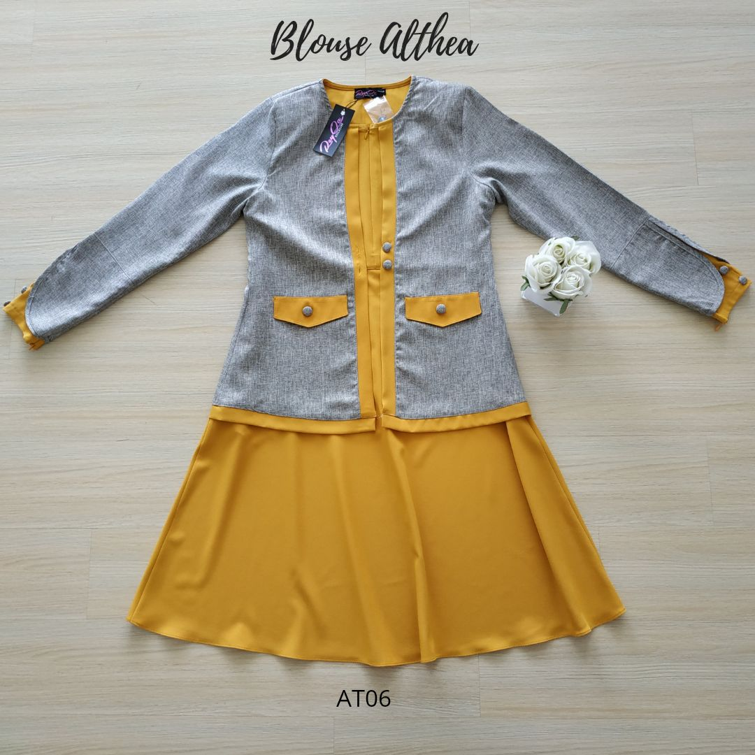 BLOUSE MUSLIMAH 2019 MODEN ALTHEA AT06 4