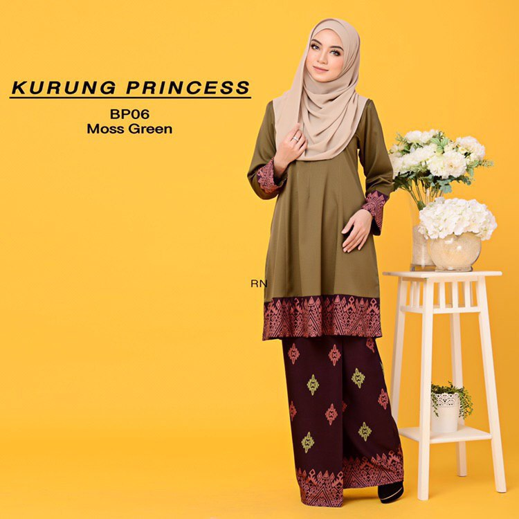 KURUNG MODEN MOTIF SONGKET PRINCESS BP06 1