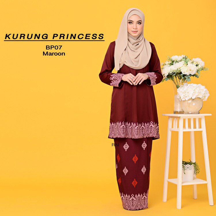 KURUNG MODEN MOTIF SONGKET PRINCESS BP07 1