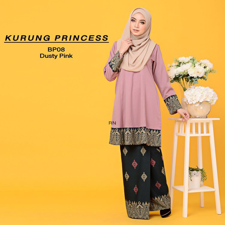KURUNG MODEN MOTIF SONGKET PRINCESS BP08 1