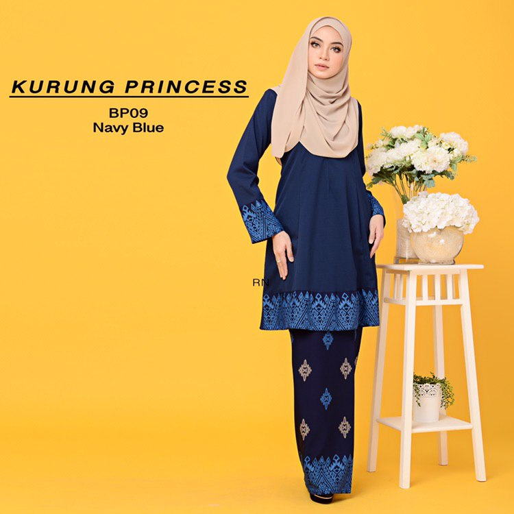 KURUNG MODEN MOTIF SONGKET PRINCESS BP09