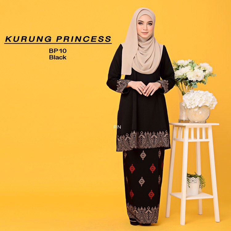 KURUNG MODEN MOTIF SONGKET PRINCESS BP10