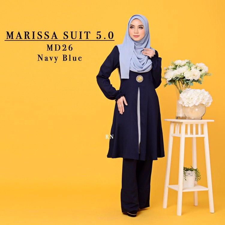 MUSLIMAH PANT SUIT MARISSA MD26 1