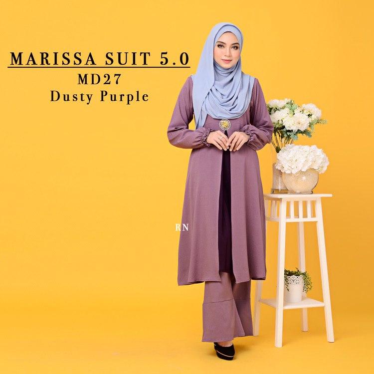 MUSLIMAH PANT SUIT MARISSA MD27 1