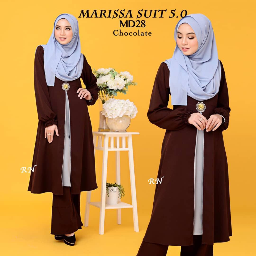 MUSLIMAH PANT SUIT MARISSA MD28 2