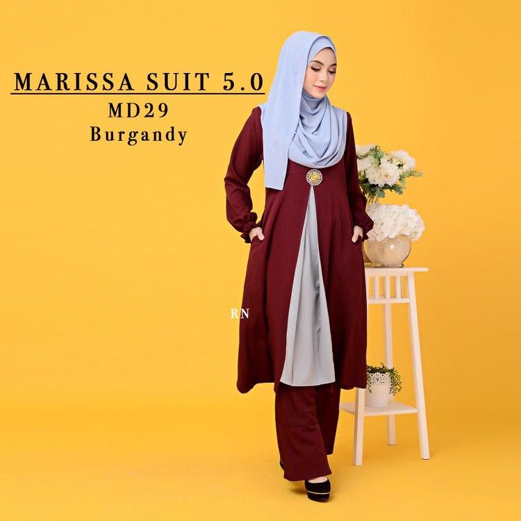 MUSLIMAH PANT SUIT MARISSA MD29 1