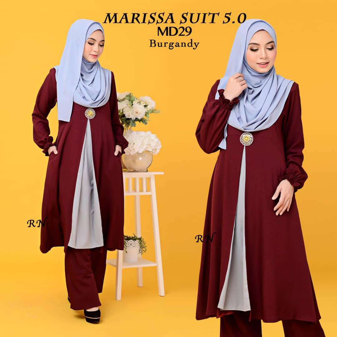 MUSLIMAH PANT SUIT MARISSA MD29 2