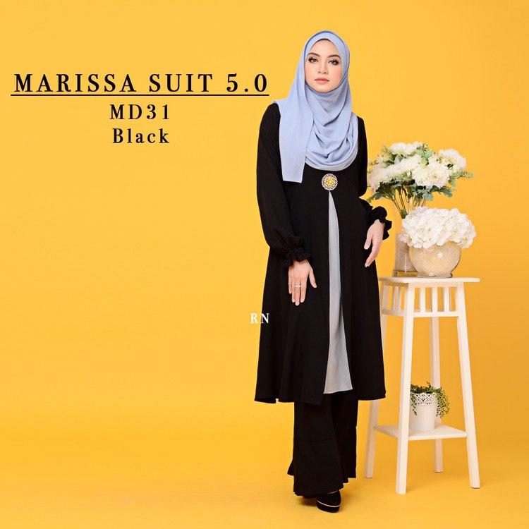 MUSLIMAH PANT SUIT MARISSA MD31 1