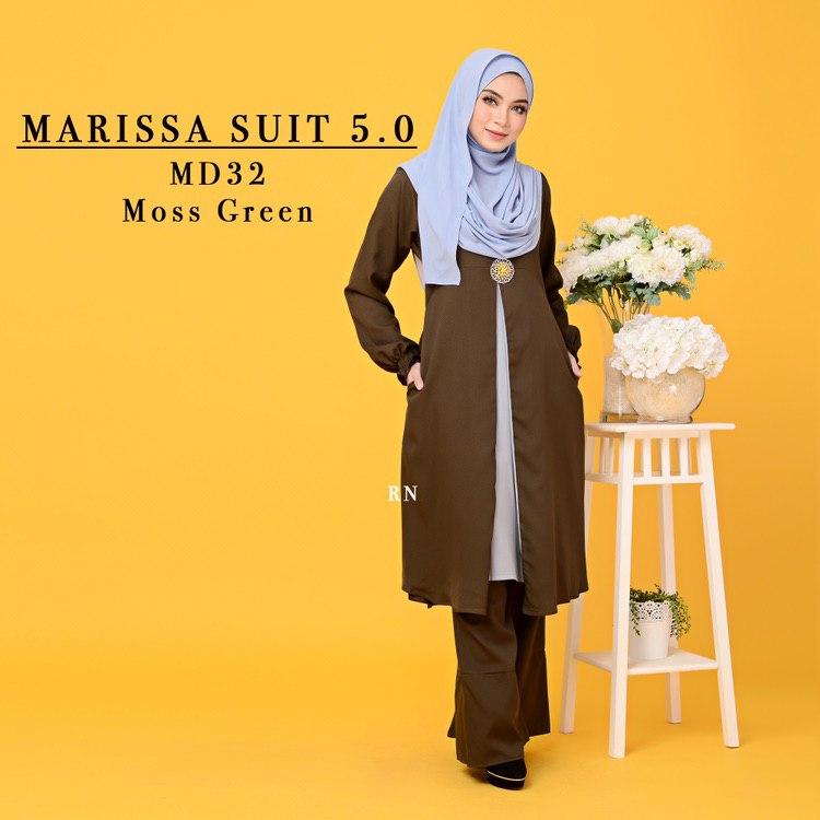 MUSLIMAH PANT SUIT MARISSA MD32 1