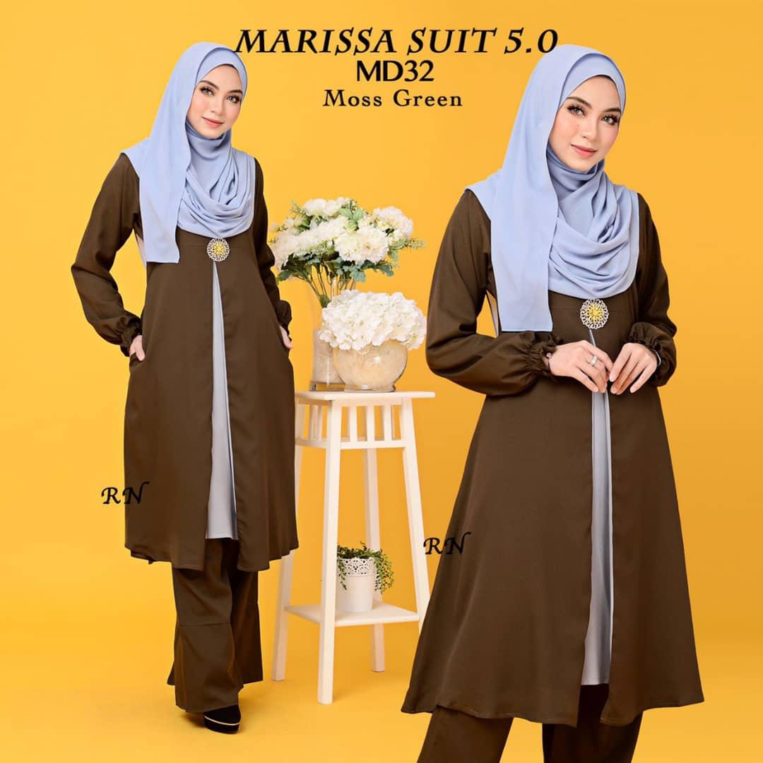 MUSLIMAH PANT SUIT MARISSA MD32 2