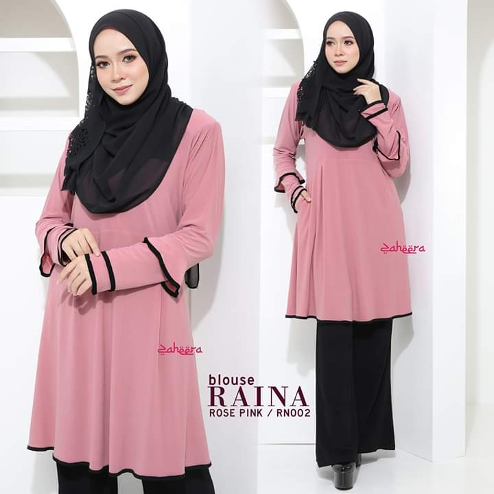 BLOUSE IRONLESS TRAVEL FRIENDLY RAINA RN002 2