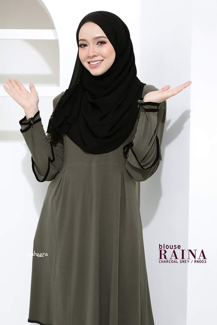 BLOUSE IRONLESS TRAVEL FRIENDLY RAINA RN003 2