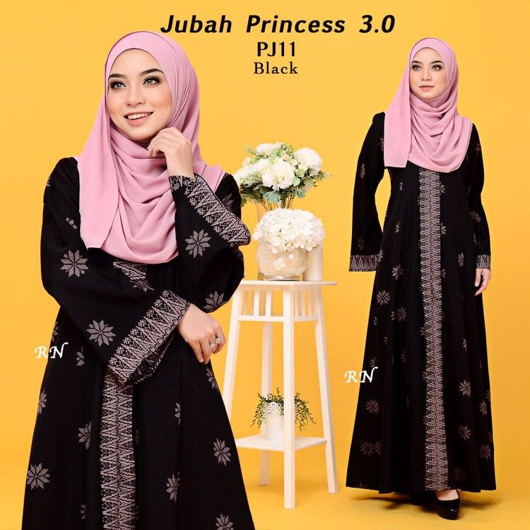 JUBAH PRINTED PRINCESS MOTIF SONGKET PJ11