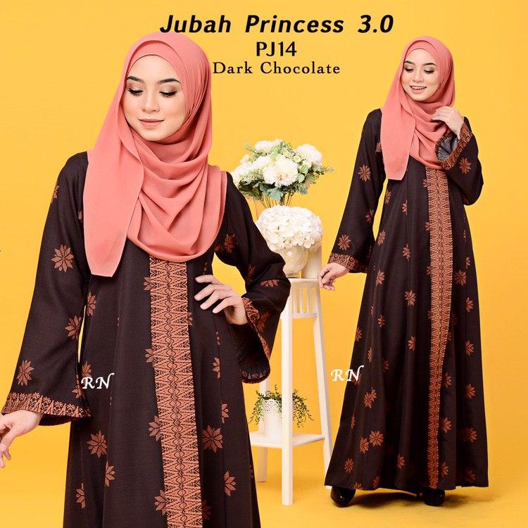 JUBAH PRINTED PRINCESS MOTIF SONGKET PJ14