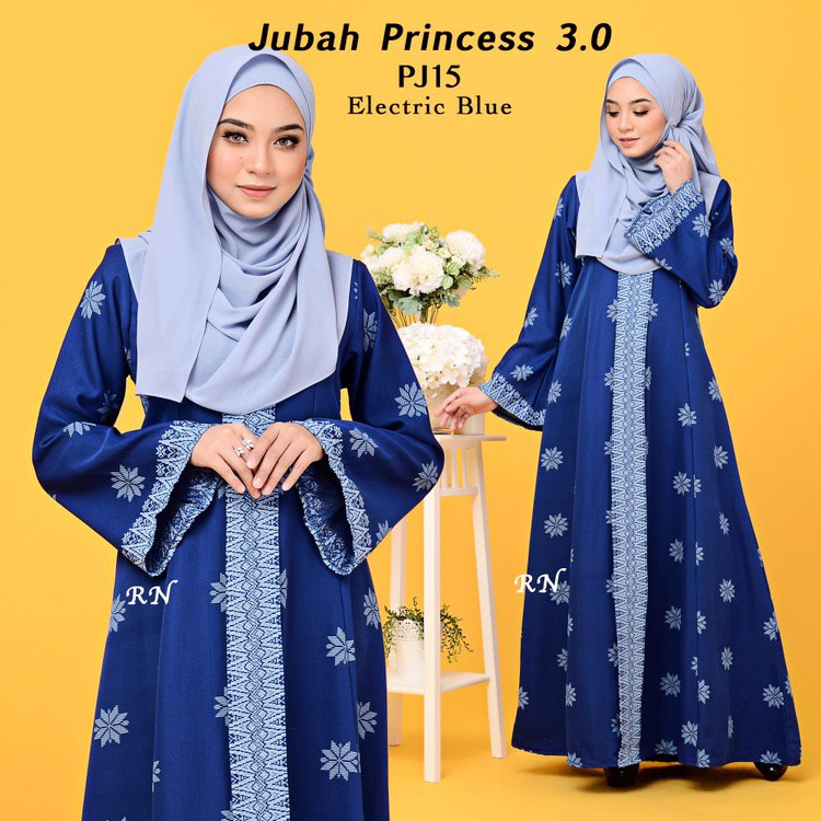 JUBAH PRINTED PRINCESS MOTIF SONGKET PJ15
