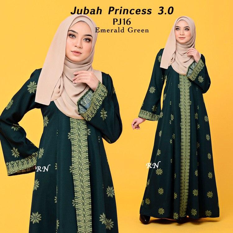 JUBAH PRINTED PRINCESS MOTIF SONGKET PJ16