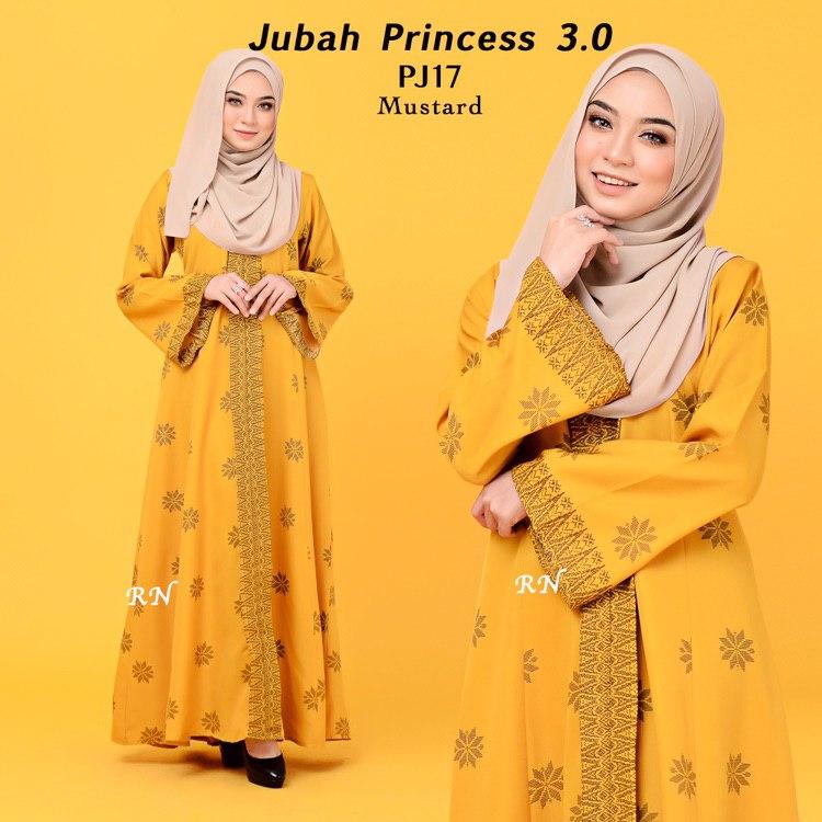 JUBAH PRINTED PRINCESS MOTIF SONGKET PJ17