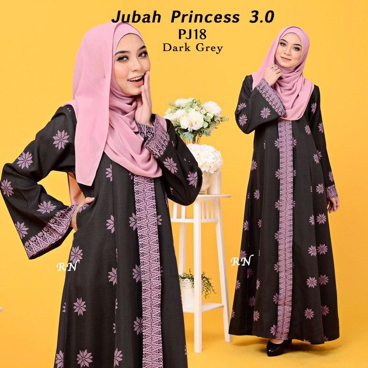 JUBAH PRINTED PRINCESS MOTIF SONGKET PJ18