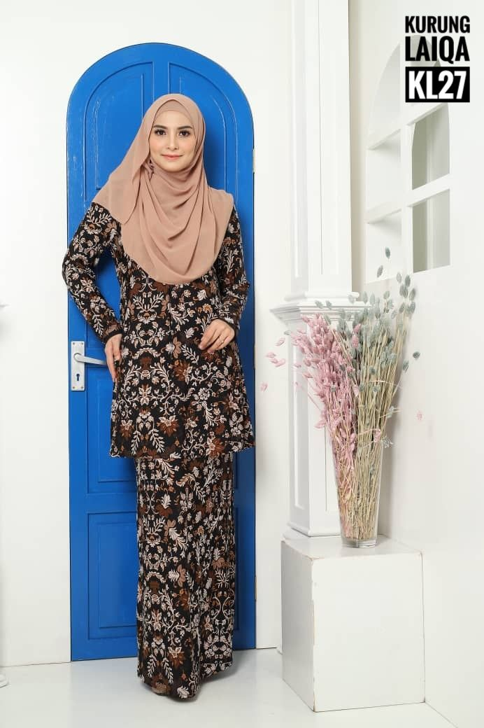 KURUNG MODEN IRONLESS TRAVEL FRIENDLY LAIQA KL27 1