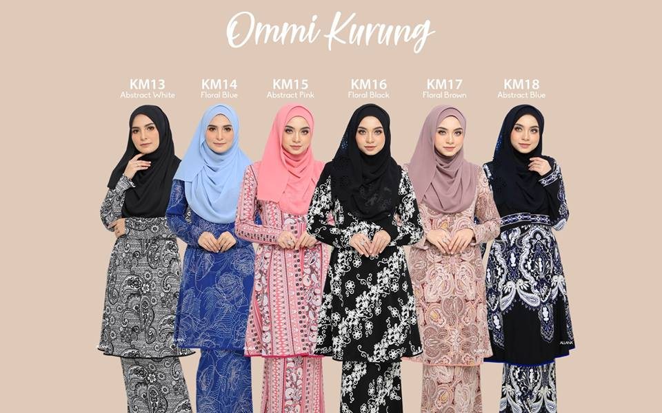 KURUNG MODEN LYCRA IRONLESS TRAVEL FRIENDLY OMNI KM ALL 2