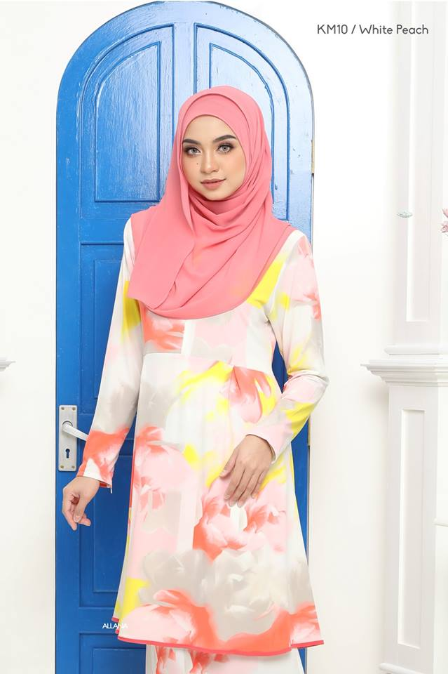KURUNG MODEN LYCRA IRONLESS TRAVEL FRIENDLY OMNI KM10 2