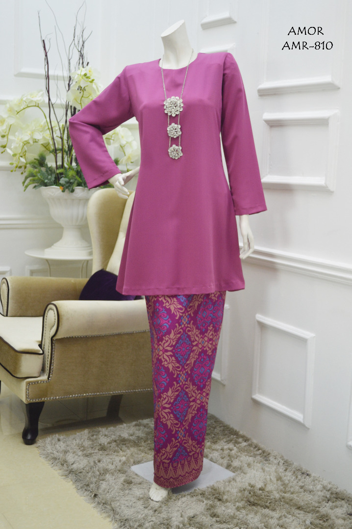 KURUNG MODEN MOTIF SONGKET AMOR COLLECTION AMR810