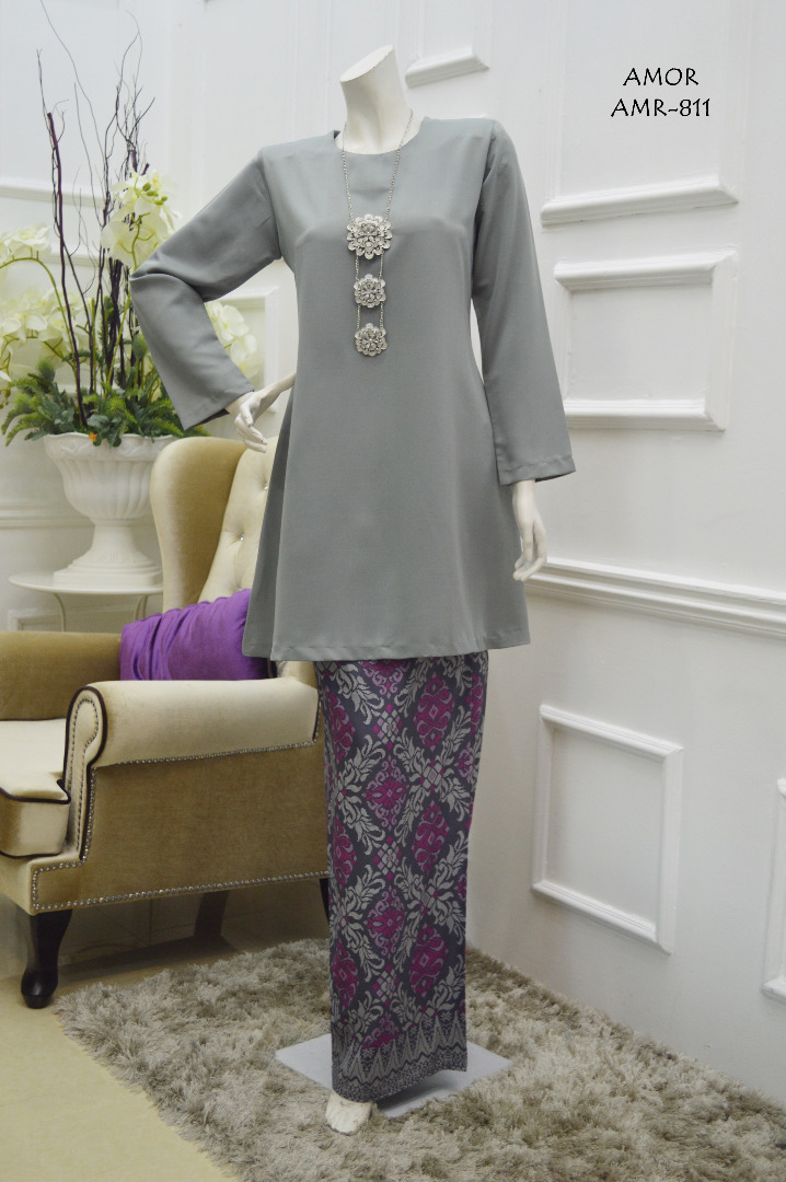KURUNG MODEN MOTIF SONGKET AMOR COLLECTION AMR811