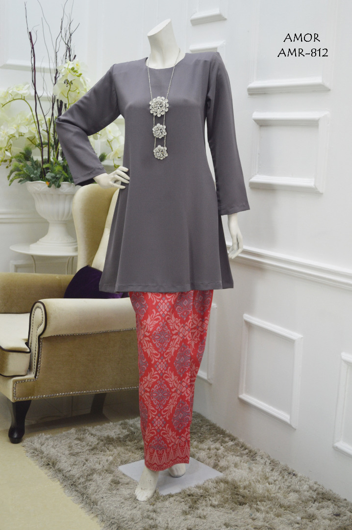 KURUNG MODEN MOTIF SONGKET AMOR COLLECTION AMR812