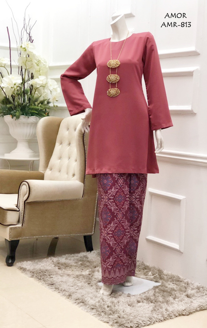 KURUNG MODEN MOTIF SONGKET AMOR COLLECTION AMR813