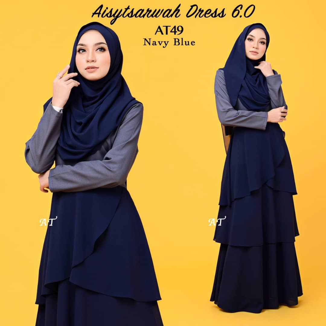 DRESS LAYER CHIFFON AISY TSARWAH AT49