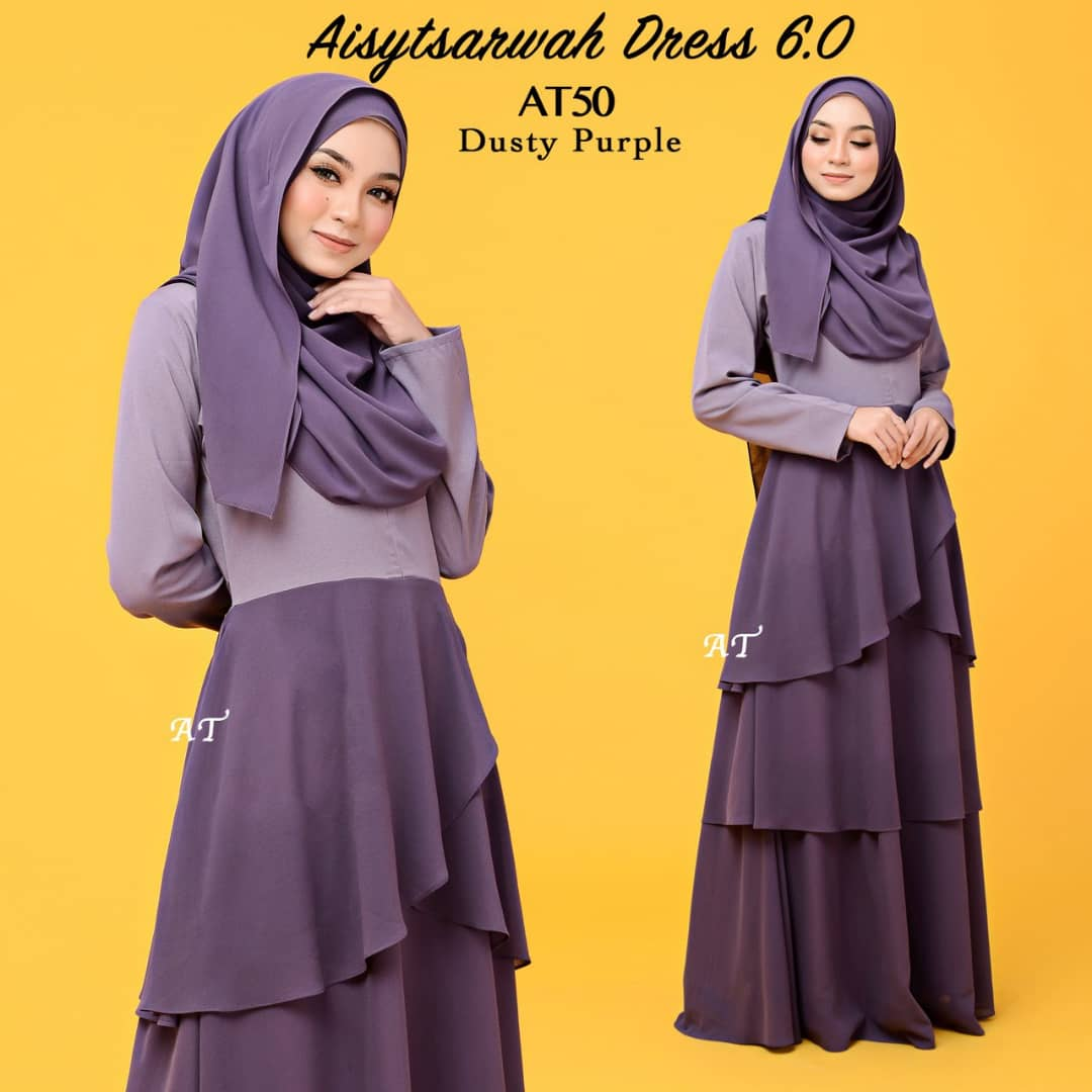 DRESS LAYER CHIFFON AISY TSARWAH AT50