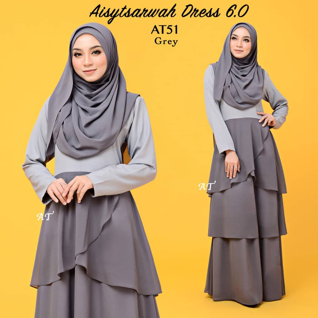 DRESS LAYER CHIFFON AISY TSARWAH AT51
