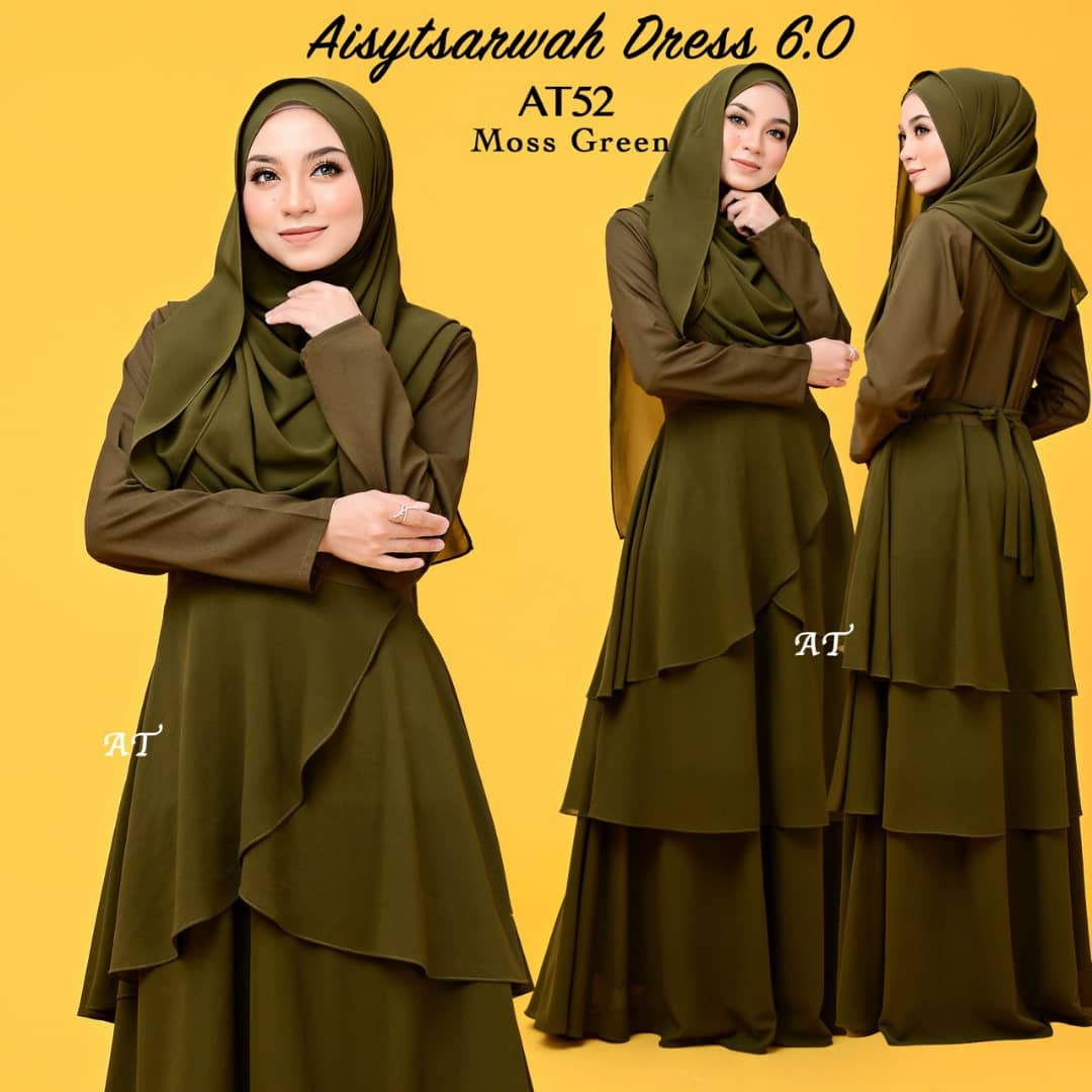 DRESS LAYER CHIFFON AISY TSARWAH AT52