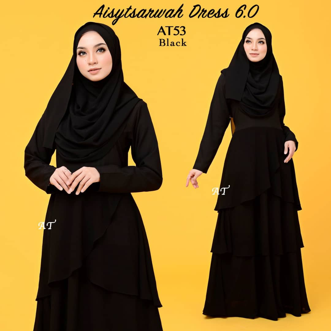 DRESS LAYER CHIFFON AISY TSARWAH AT53
