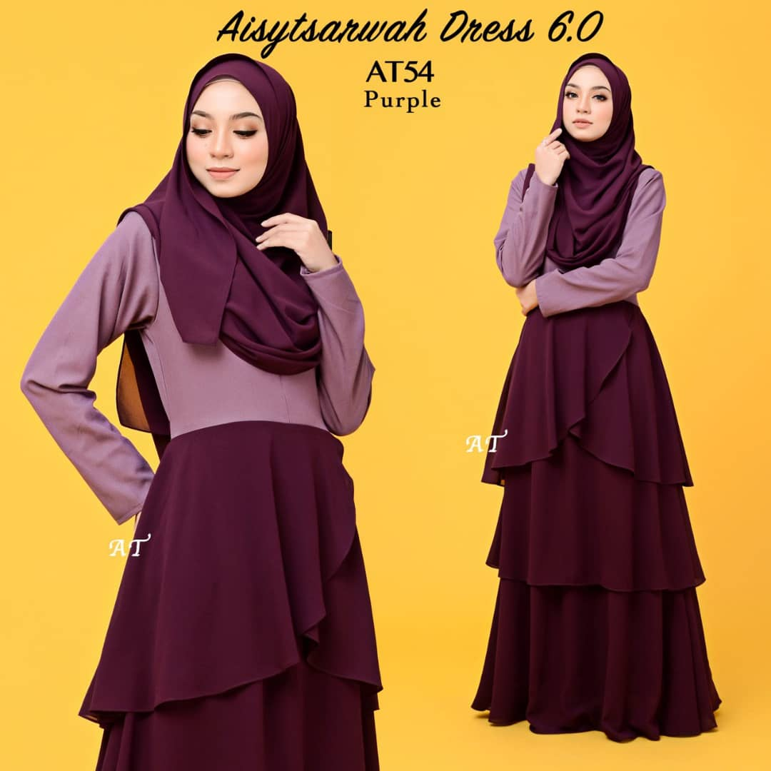 DRESS LAYER CHIFFON AISY TSARWAH AT54