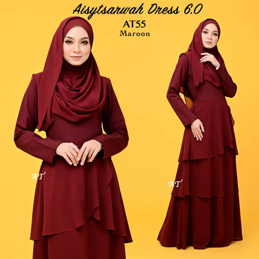 DRESS LAYER CHIFFON AISY TSARWAH AT55
