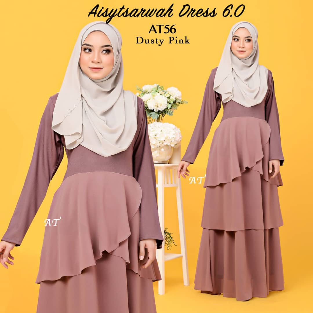 DRESS LAYER CHIFFON AISY TSARWAH AT56