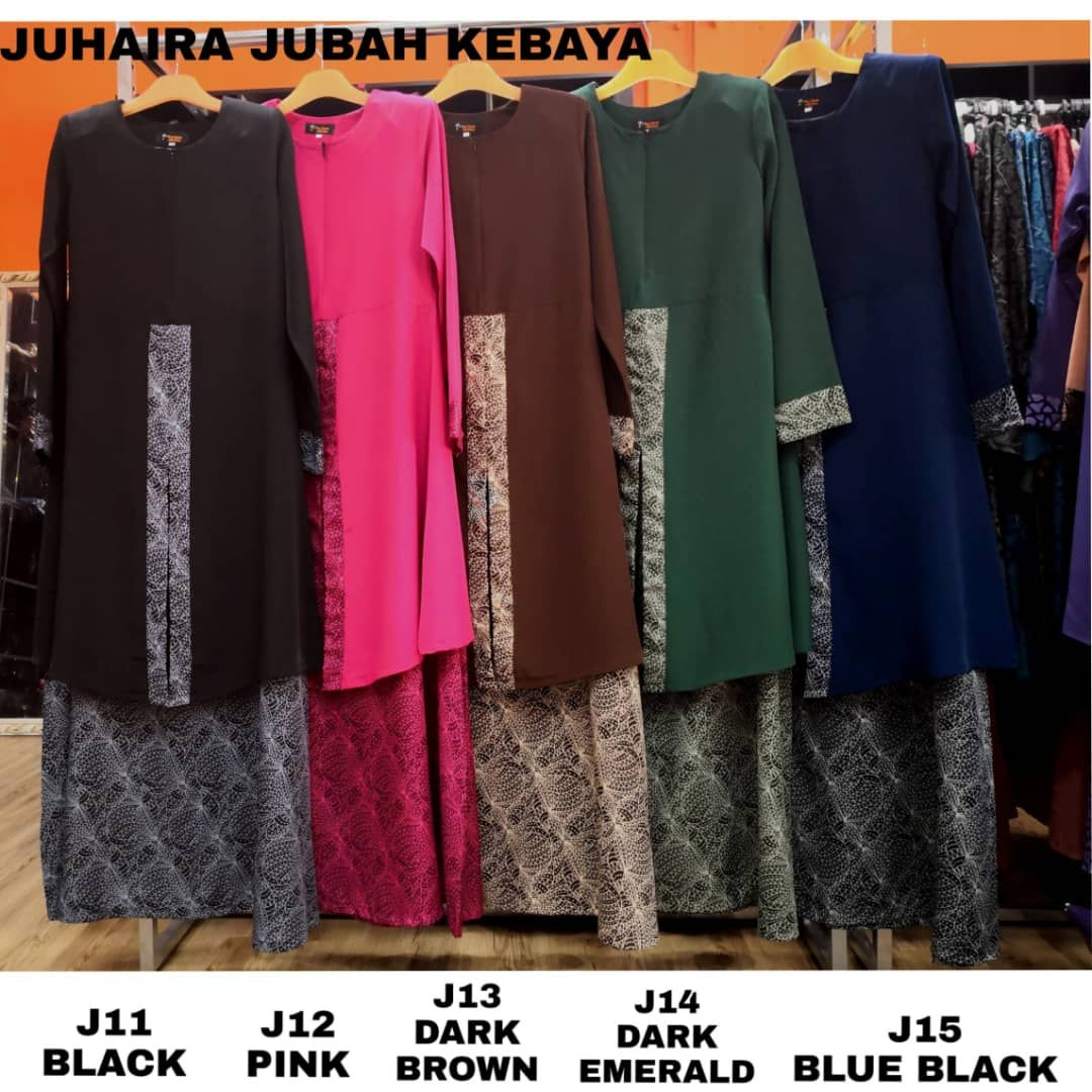 JUBAH KEBAYA RAYA 2019 JUHAIRA CLOSE 2