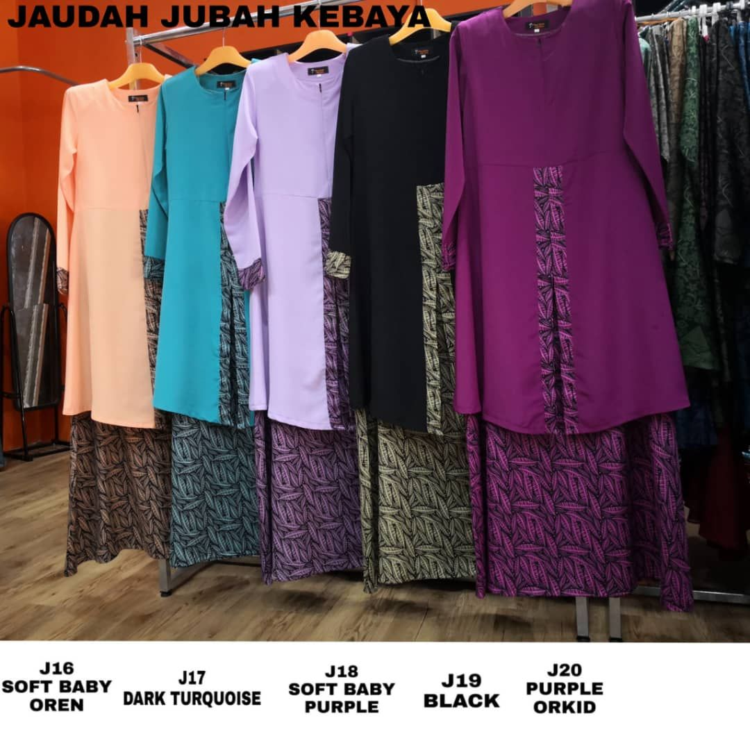 JUBAH KEBAYA RAYA 2019 JUHAIRA CLOSE