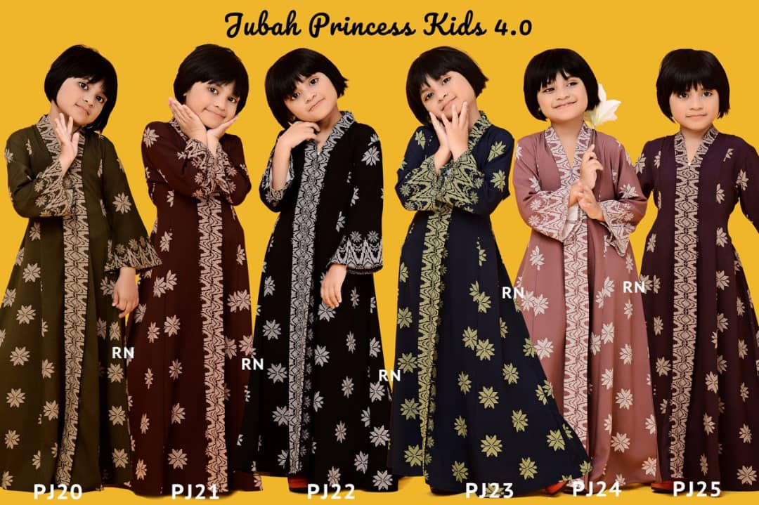 JUBAH PRINCESS SEDONDON SONGKET RAYA 2019 TERKINI KIDS ALL