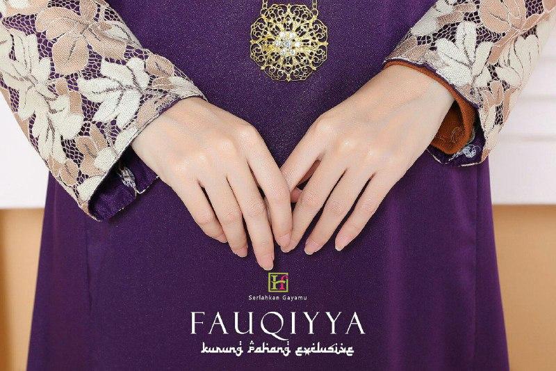 BAJU KURUNG PAHANG RAYA 2019 FAUQIYYA PURPLE 2