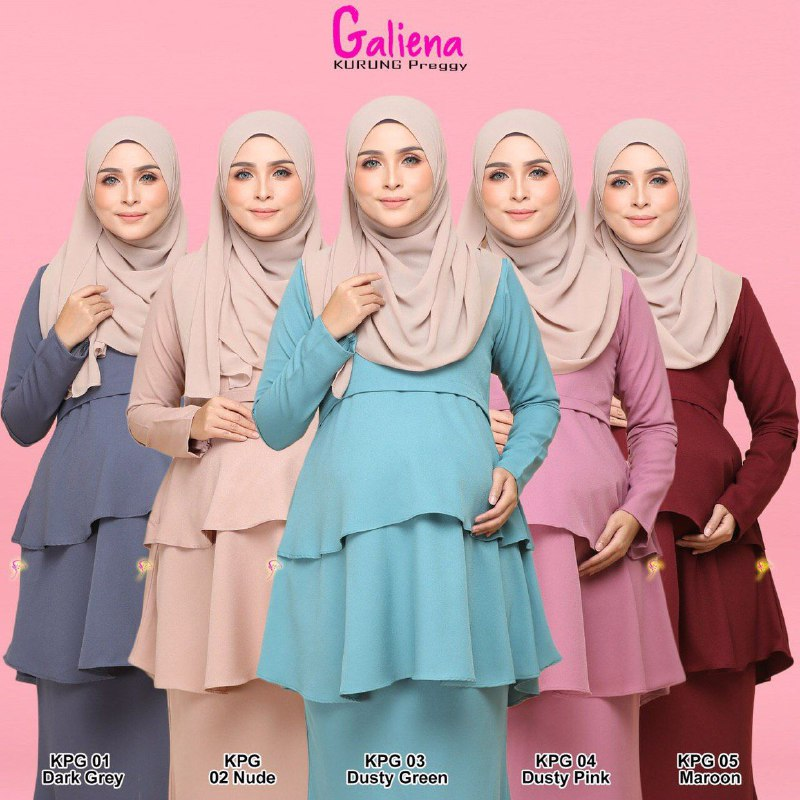 BAJU KURUNG PREGGY GALIENA RAYA 2019 KPG ALL 2